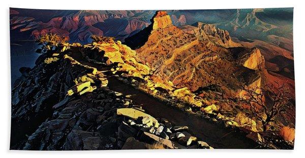 South Kaibab Trail - Grand Canyon Hand Towel