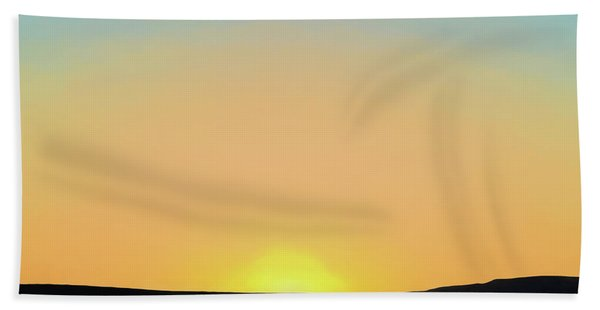 Southwestern Sunset Bath Towel