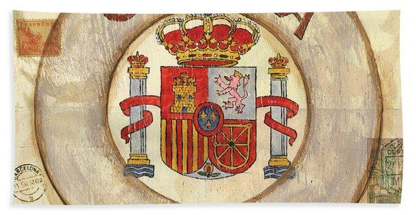 Spain Coat Of Arms Bath Towel