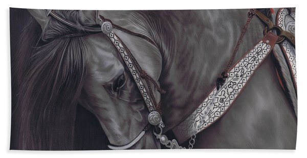 Spanish Horse Hand Towel