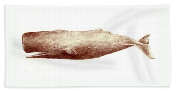 Sperm Whale Bath Towel