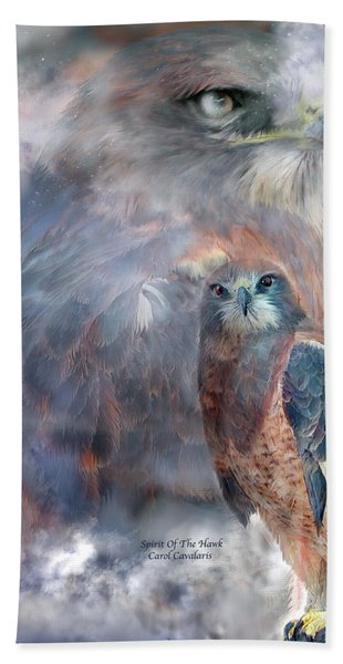 Spirit Of The Hawk Hand Towel
