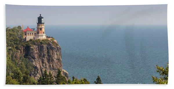 Split Rock Lighthouse Hand Towel