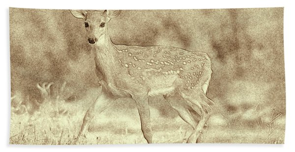 Spotted Fawn Bath Towel