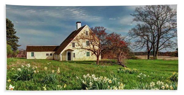 Spring At The Paine House Hand Towel