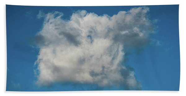 Square Cloud Delray Beach Florida Bath Towel