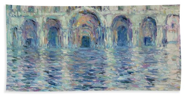st-Marco square- Venice Hand Towel