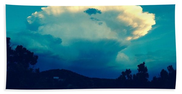 Storm Over Santa Fe Bath Towel