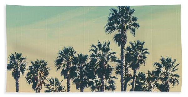 Stroll Down Venice Beach Bath Towel