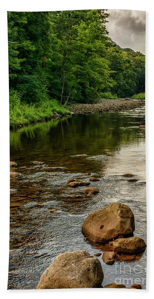 Summer Morning Williams River Hand Towel