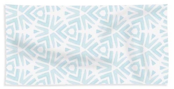 Summer Splash- Pattern Art By Linda Woods Hand Towel