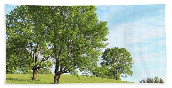 Summer Trees Bath Towel
