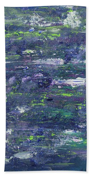 Summer Water Garden Bath Towel
