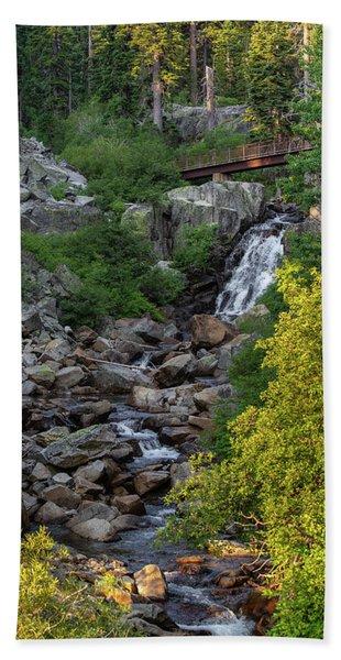 Summer Waterfall Bath Towel