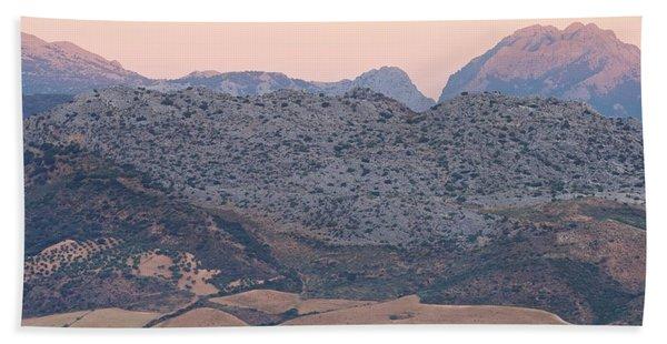 Sunrise At Mirador De Ronda Hand Towel