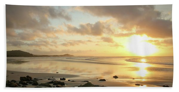 Sunset Beach Delight Hand Towel