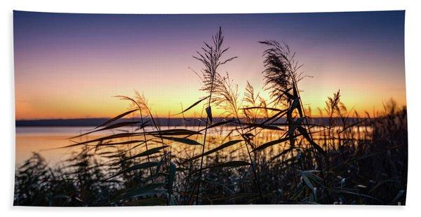 Sunset Impression  Bath Towel