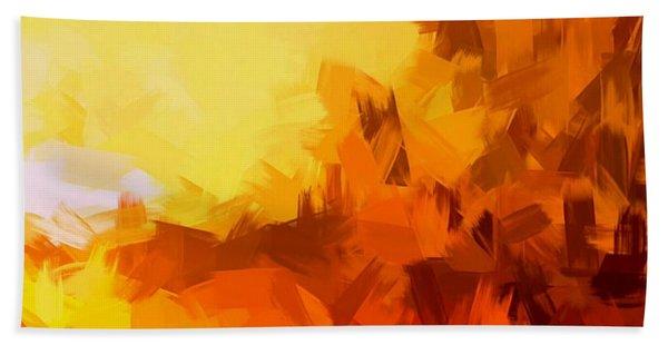 Sunset In Valhalla Hand Towel