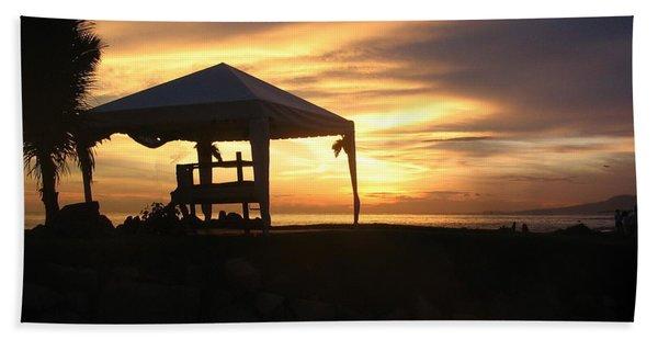 Sunset Massage Bath Towel