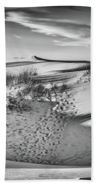 Sunset On The Dunes Hand Towel