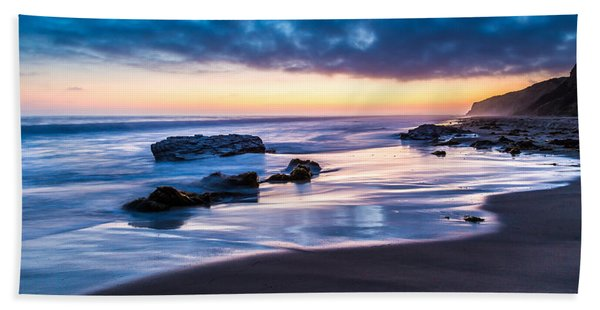 Sunset Shine Hand Towel