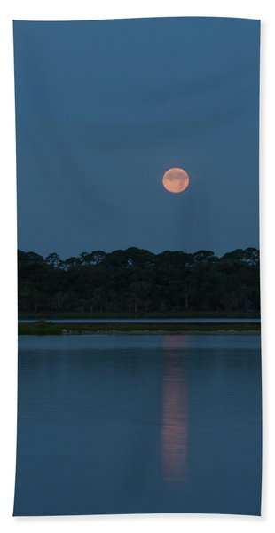 Supermoon Dawn 2013 #2 Hand Towel