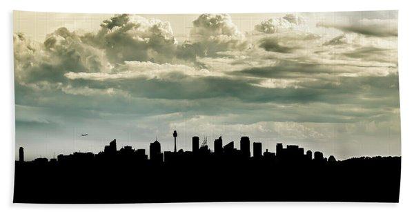 Sydney Skyline Bath Towel