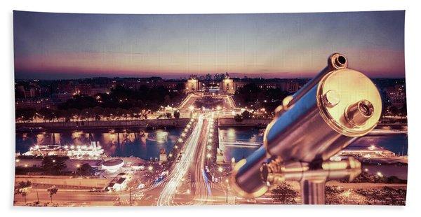 Take A Look At Paris Hand Towel