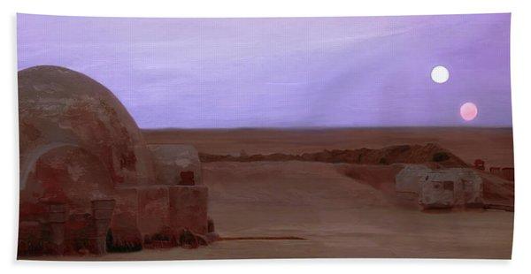 Tatooine Sunset Hand Towel