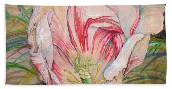 Tempting  Tulip Bath Towel