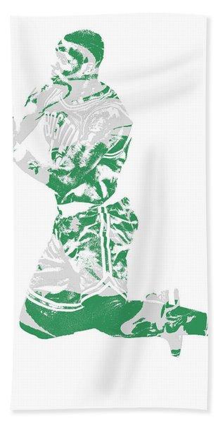 Terry Rozier Boston Celtics Pixel Art 12 Hand Towel