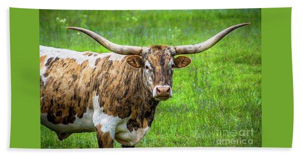 Texas Longhorn Hand Towel