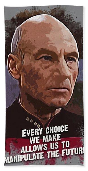 The Choice - Picard Hand Towel