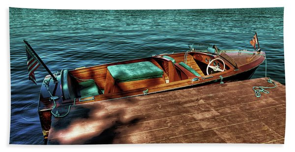 The Chris Craft Continental - 1958 Bath Towel