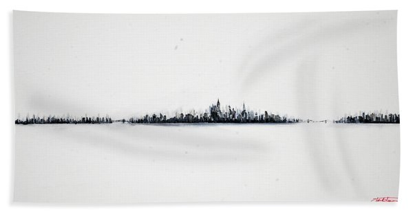 The City New York Hand Towel