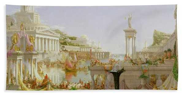 The Course Of Empire - The Consummation Of The Empire Bath Towel
