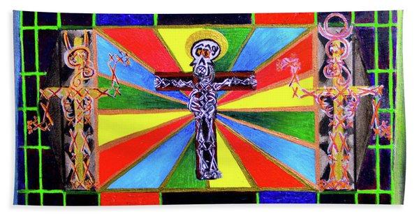 The Crucifffictiooon - Paradisi Gloooria Bath Towel