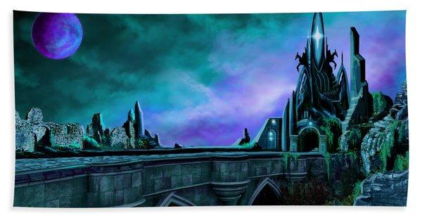 The Crystal Palace - Nightwish Bath Towel