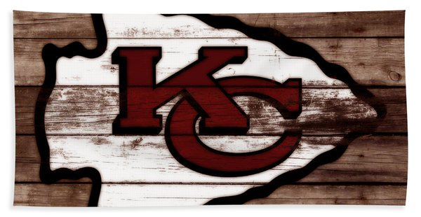 The Kansas City Chiefs 3b Bath Towel