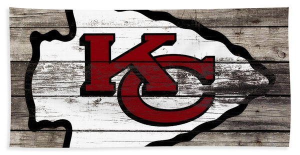 The Kansas City Chiefs 3e   Bath Towel