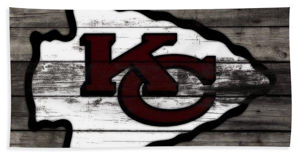 The Kansas City Chiefs 3f   Bath Towel