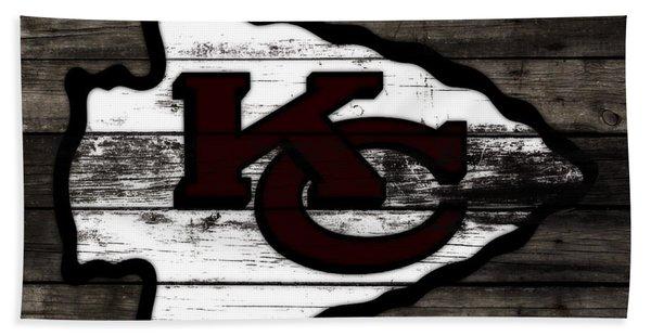 The Kansas City Chiefs 3h   Bath Towel