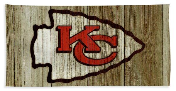 The Kansas City Chiefs C2 Bath Towel