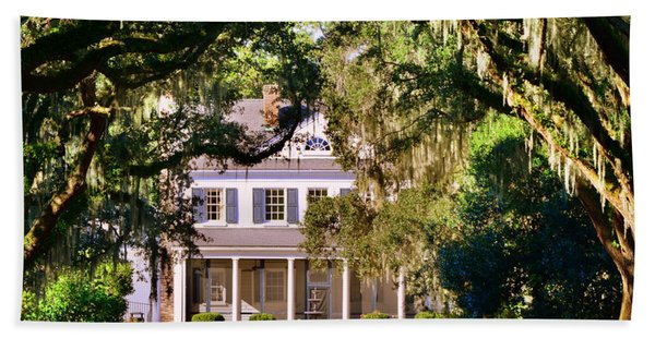 The Legare-waring House At Charles Town Landing Hand Towel