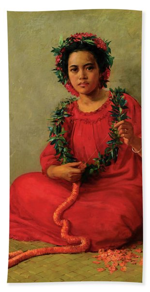 The Lei Maker Hand Towel
