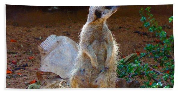 The Lookout - Meerkat Bath Towel