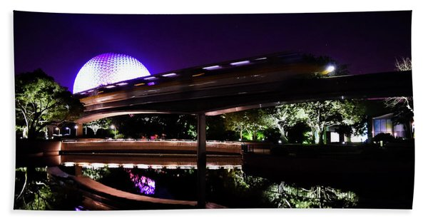 The Magic Of Epcot Hand Towel