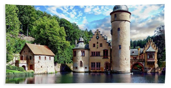 The Mespelbrunn Castle Bath Towel