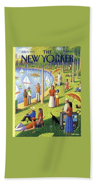 The New Yorker July 15th, 1991 Bath Towel