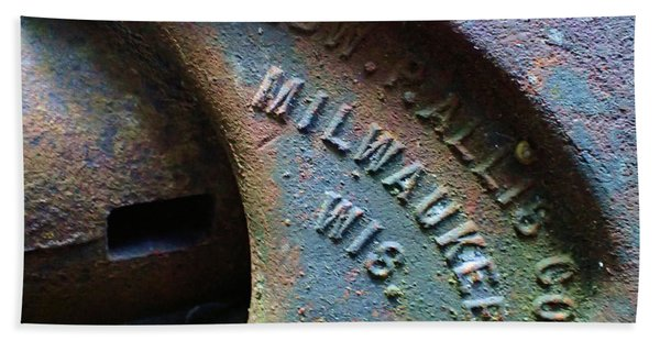 The Old Stamp Mill- Findley Mine Hand Towel